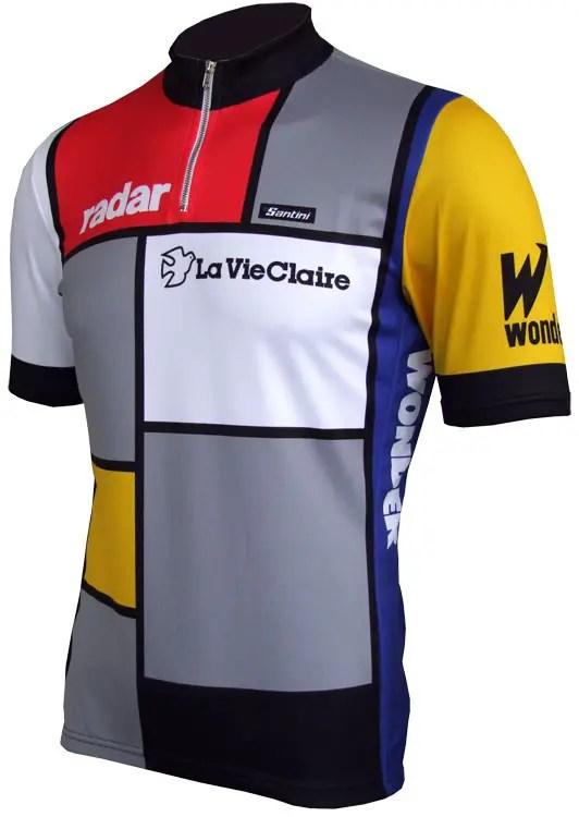 La Vie Claire jersey - Wonder, Radar, Look edition