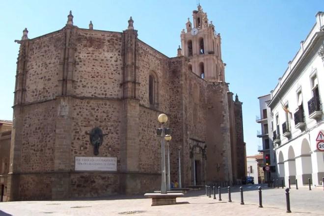 Almendralejo, Iglesia de la purificacion