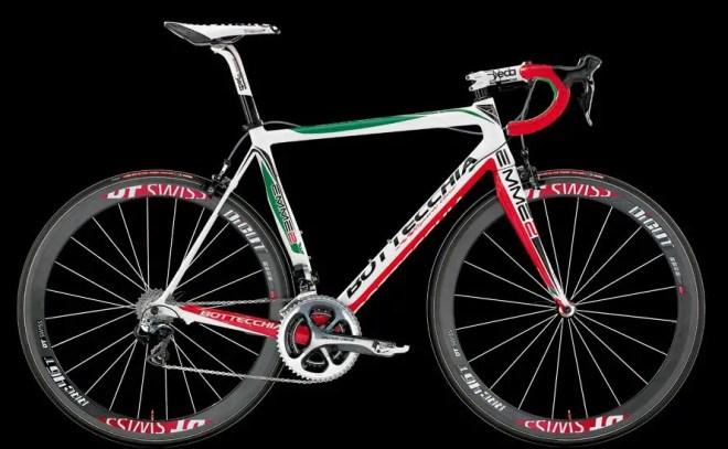 Bottecchia 2014 road bike series - Bottecchia Emme2 2014 (green-white-red)
