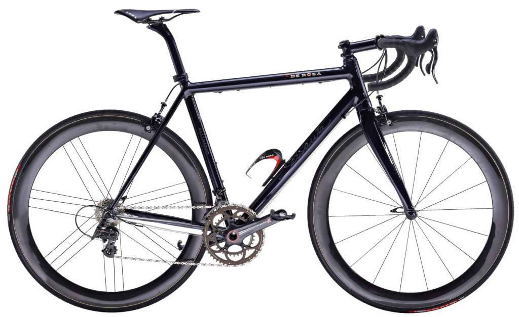 "De Rosa 60th Anniversary Bicycles: ""The Black Label"