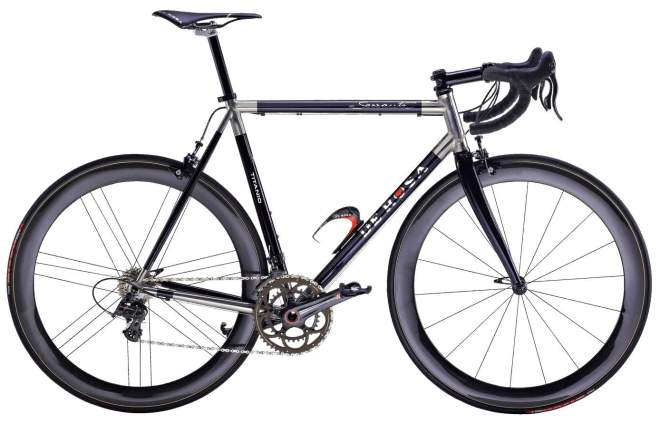De Rosa 60th anniversary Black Label series: Titanium
