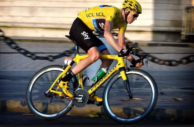 Chris Froome at Tour de France 2013