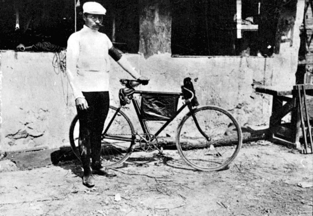 Maurice Garin, winner of 1903 Tour de France