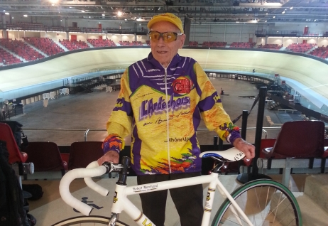 Robert Marchand, new hour record