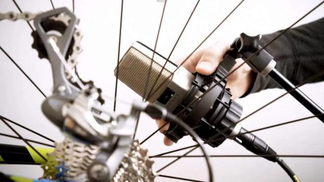 Bicycle as a musical instrument (JohnnyRandom - Bespoken)