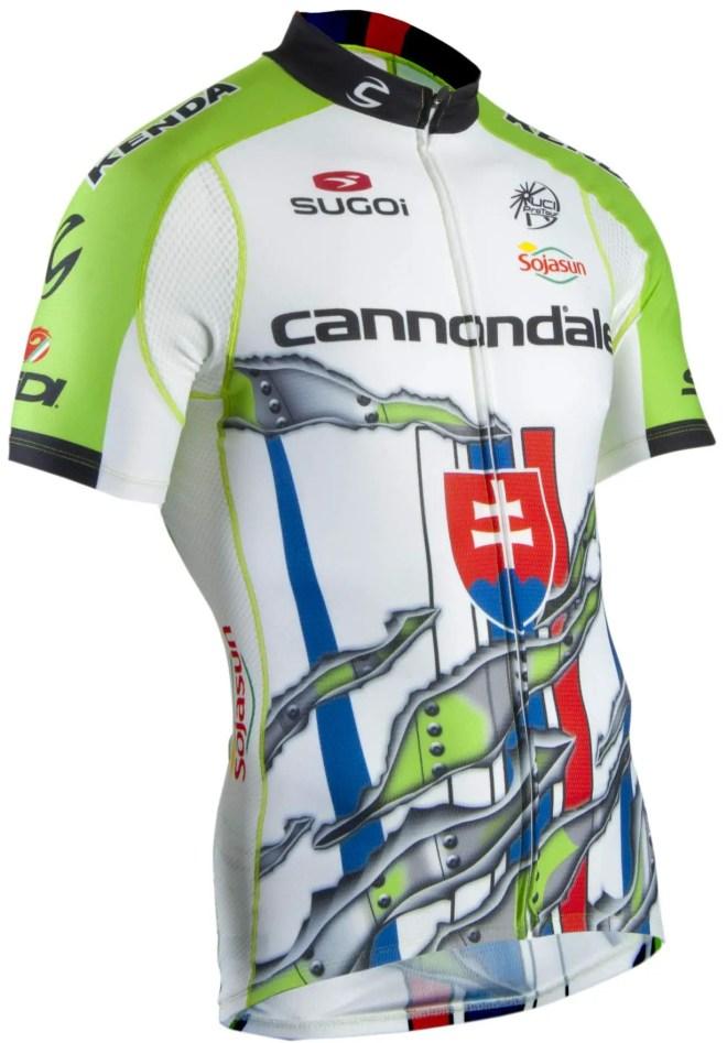 Peter Sagan's new custom jersey-front