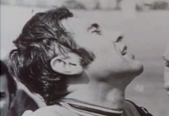 Eddy Merckx, after beating the Hour Record