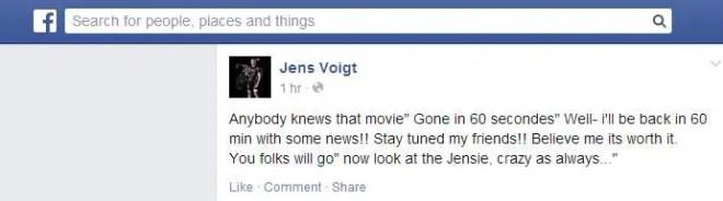 Jens Voigt facebook status