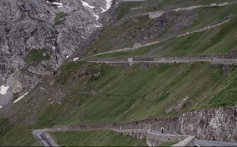 The road to Mont Blanc (video)
