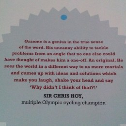 The Obree Way - back cover