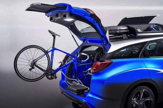 Honda's 2016 model Civic Tourer Active Life concept car