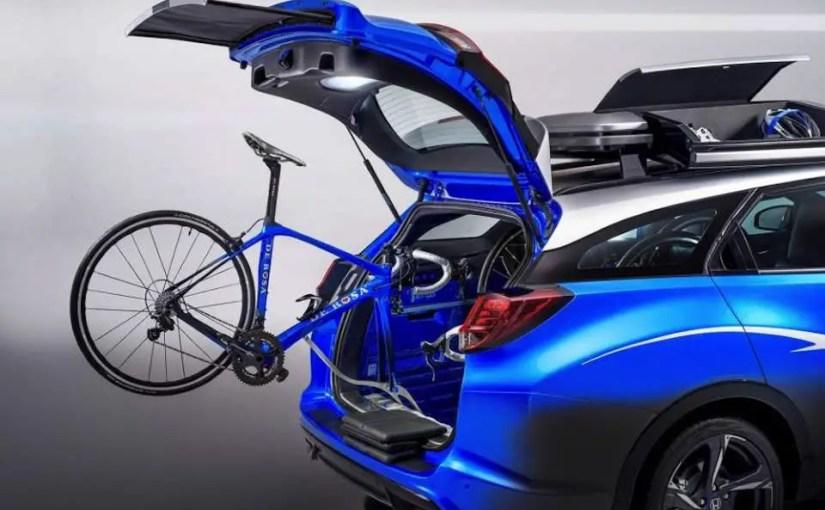 Honda unveils a car designed for cyclists