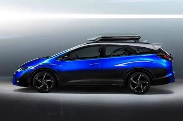 Honda Civic Tourer Active Life Concept car 2016