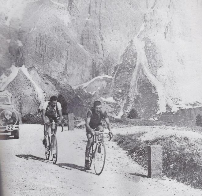 Bartali and Coppi, Giro 1940