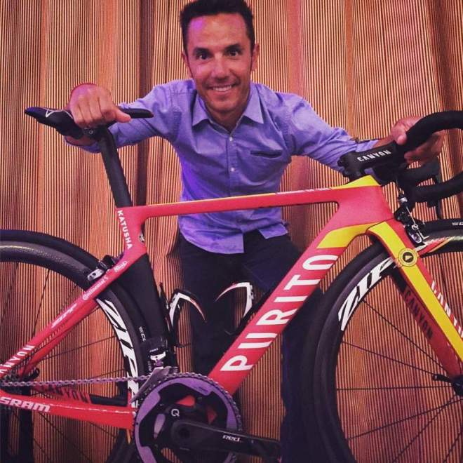 "Special Canyon bike for Joaquim ""Purito"" Rodríguez"