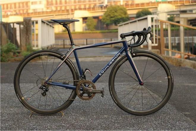 Equilibrium E1 steel road bike
