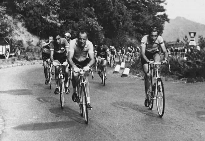 Fausto Coppi and Hugo Koblet, Giro d'Italia 1953
