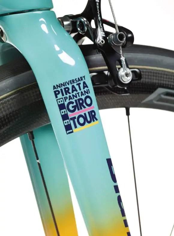 Bianchi Specialissima 2018 Pantani Edition - fork
