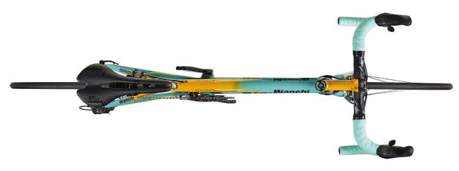 Bianchi Specialissima 2018 Pantani Edition - from up