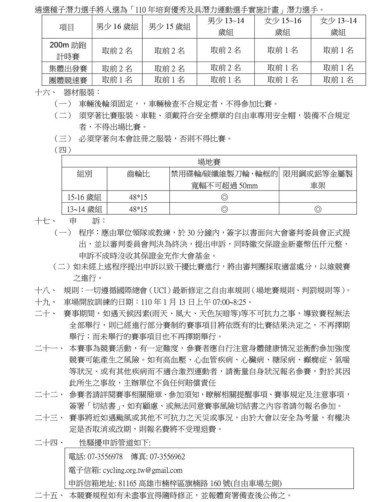 110年全國青少年場地排名賽_競賽規程_page-0003