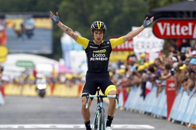 roglic powers to 19th stage win