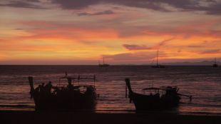 Sunset on Railay