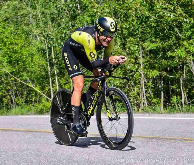 Svein Tuft on a TT Time Trial bike. He looks fast.