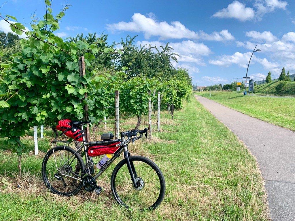 Litespeed Cherohala Gravel Allroad auf dem Weg zum Flare Bicycle Festival