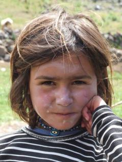 Nomad girl, Mount Ararat
