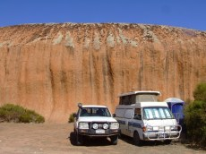 camping at Pildappa rock