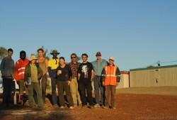 Team at Lake Giles