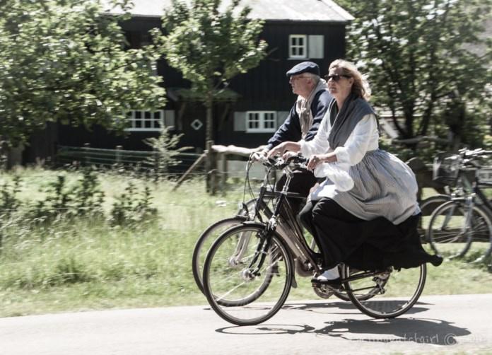 Cycling Dutch People