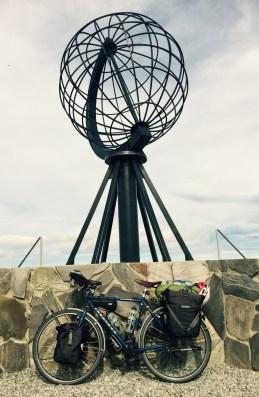 Reggie at Nordkapp, 28.7.15