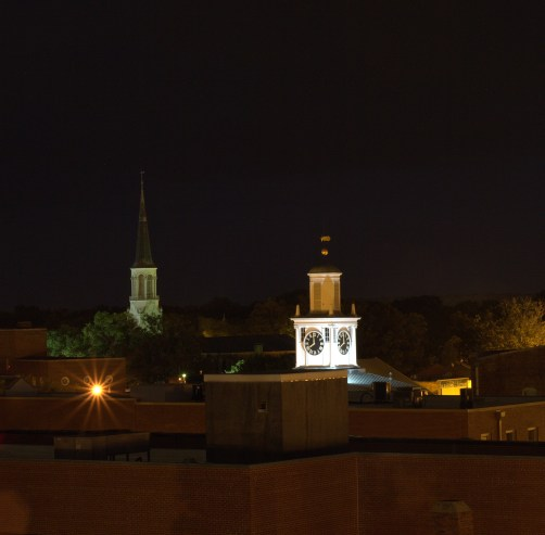 First Presbyterian Church and the Market House