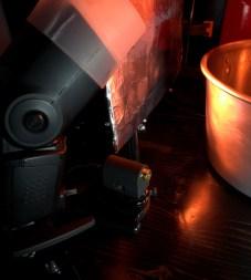 Pluto laser emitter