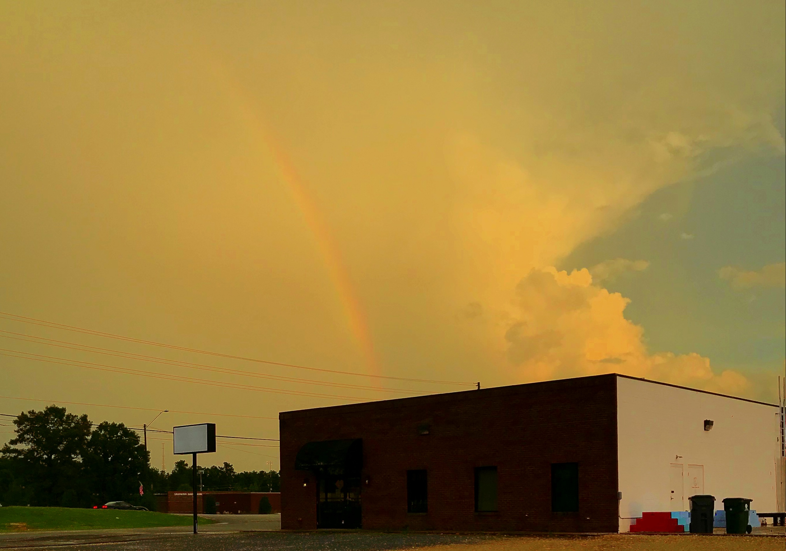 Photography ~ Rainbow, Lillington, North Carolina, 07/11