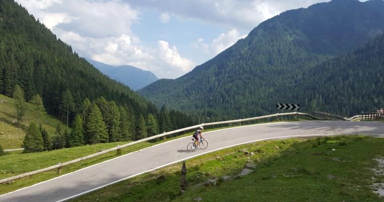 Passo Manghen da Borgo Valsugana in bicicletta