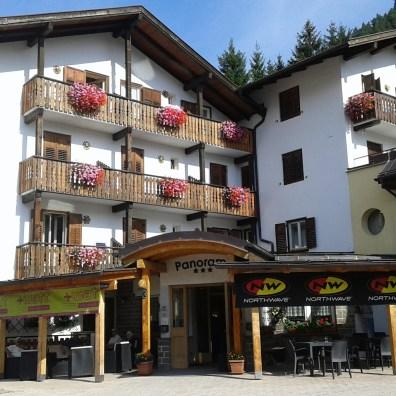 L'esterno dell'Hotel Panorama: il nostro punto di riferimento in Val di Fiemme