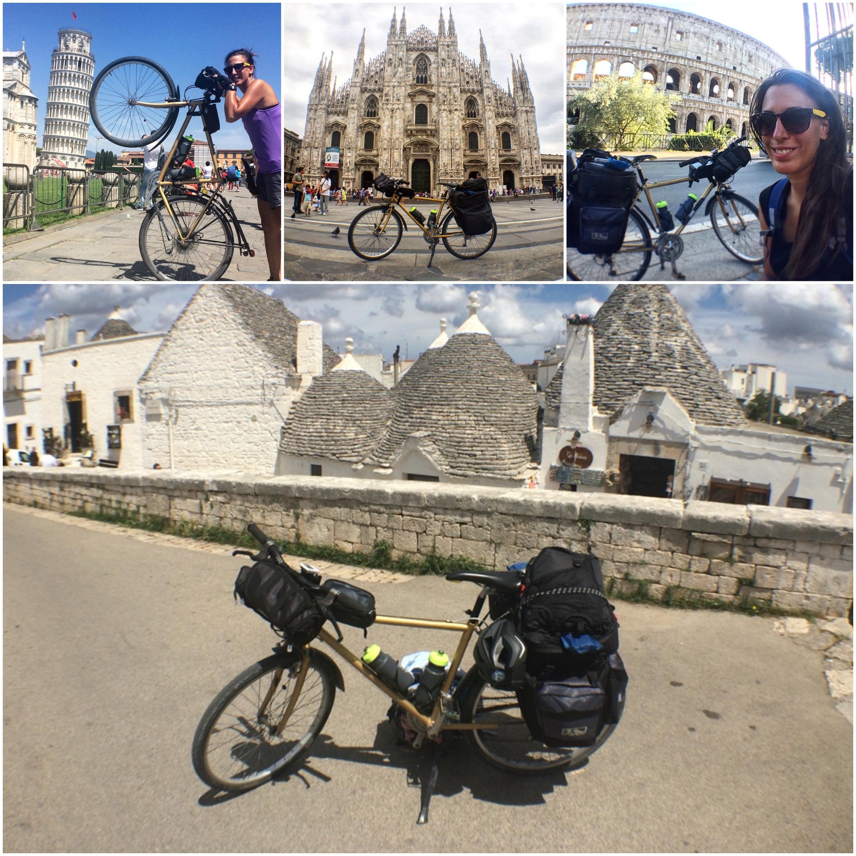 Il viaggio di Joëlle: percorrere l'Italia in bicicletta per 1800 chilometri