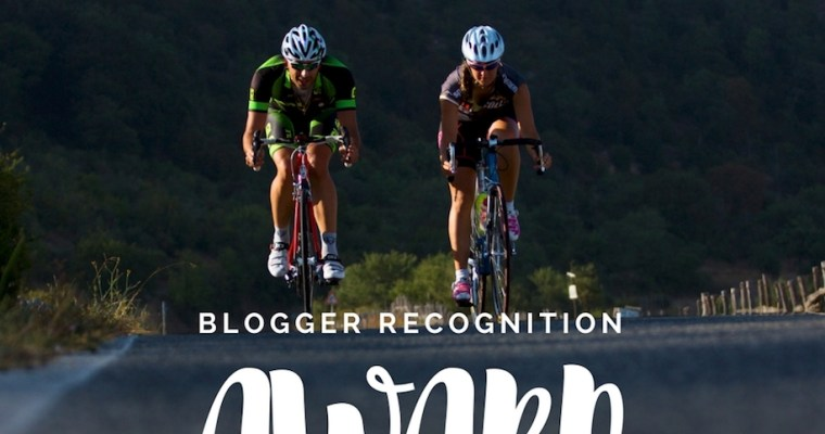 Blogger Recognition Award: i blog da non perdere by Cycling in Love