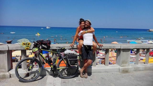 Sicilia in bicicletta: il giro dell'isola in solitaria di Ilenia