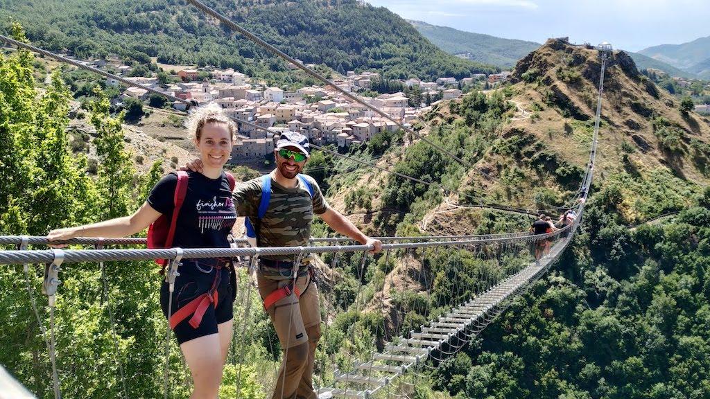 I Ponti alla Luna e le ferrate di Sasso di Castalda (PZ): avventure sospese in Basilicata