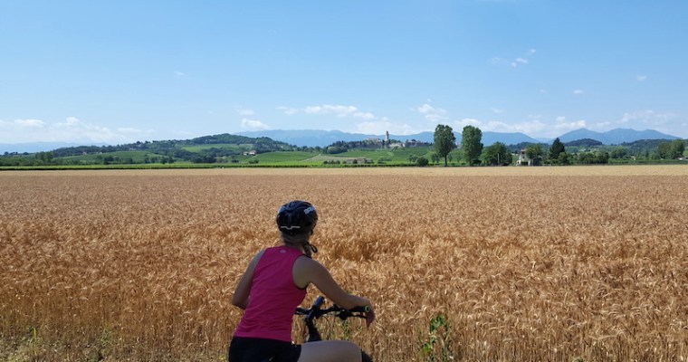 Ciclabile del Piave: da Valdobbiadene a Susegana (TV) in e-bike