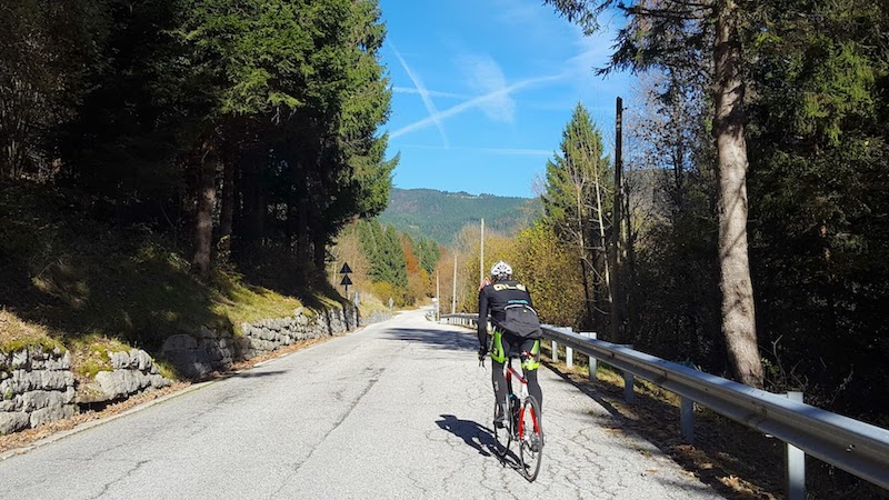 Salita di Foza in bicicletta: caratteristiche e altimetria da Valstagna (VI)