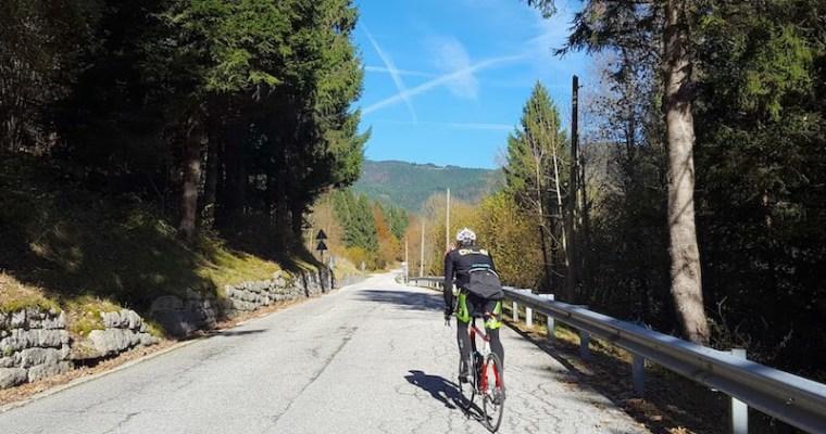 Foza (VI) in bicicletta: da Valstagna (VI) all'Altopiano di Asiago