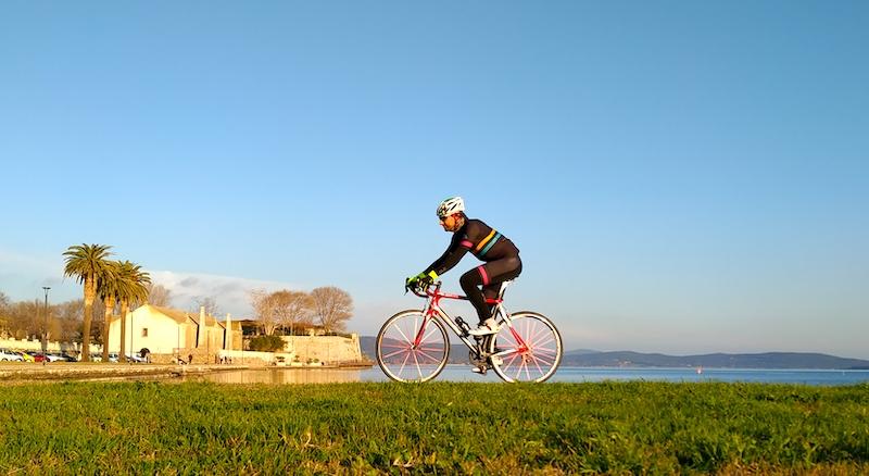 Tombolo della Feniglia e Monte Argentario in bicicletta: anello ciclabile da Orbetello