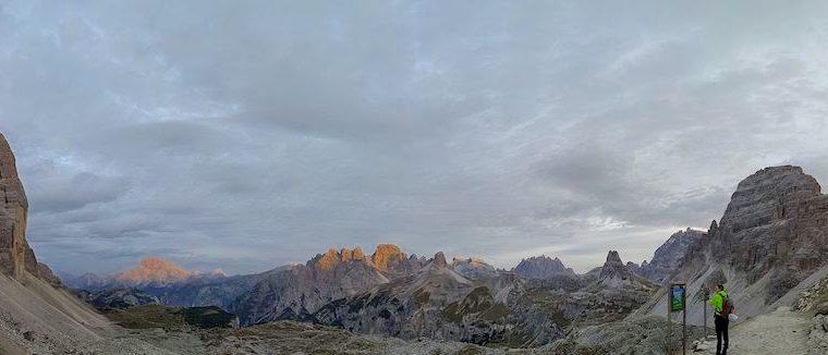 Trekking dal rifugio Auronzo al Monte Paterno (Dolomiti di Sesto)