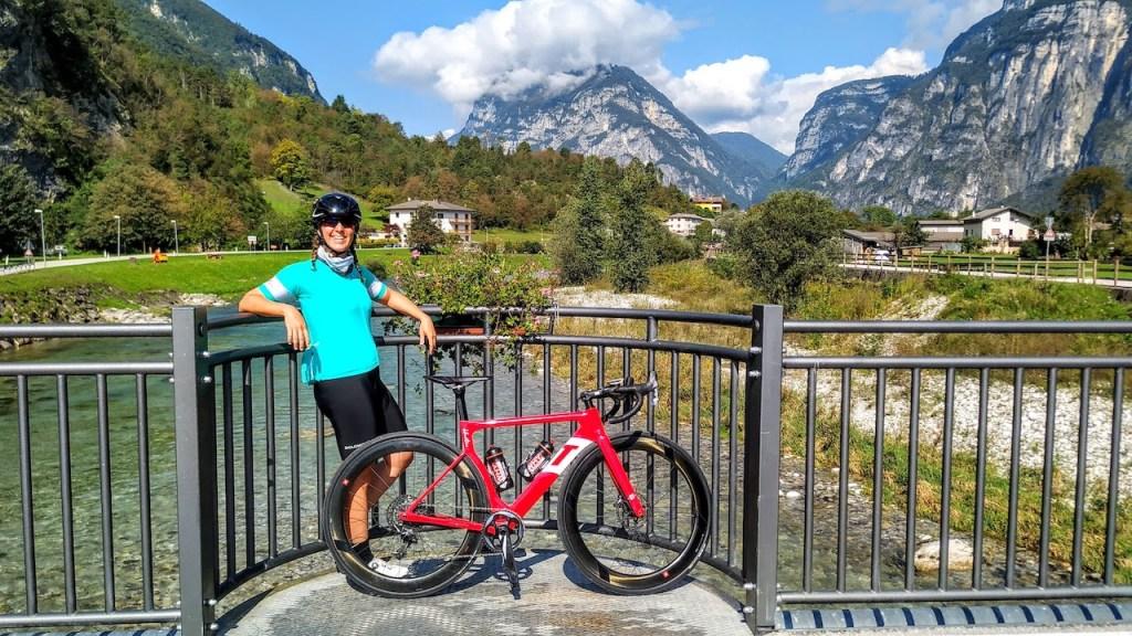 pista ciclabile della Valsugana a Tezze sul Brenta