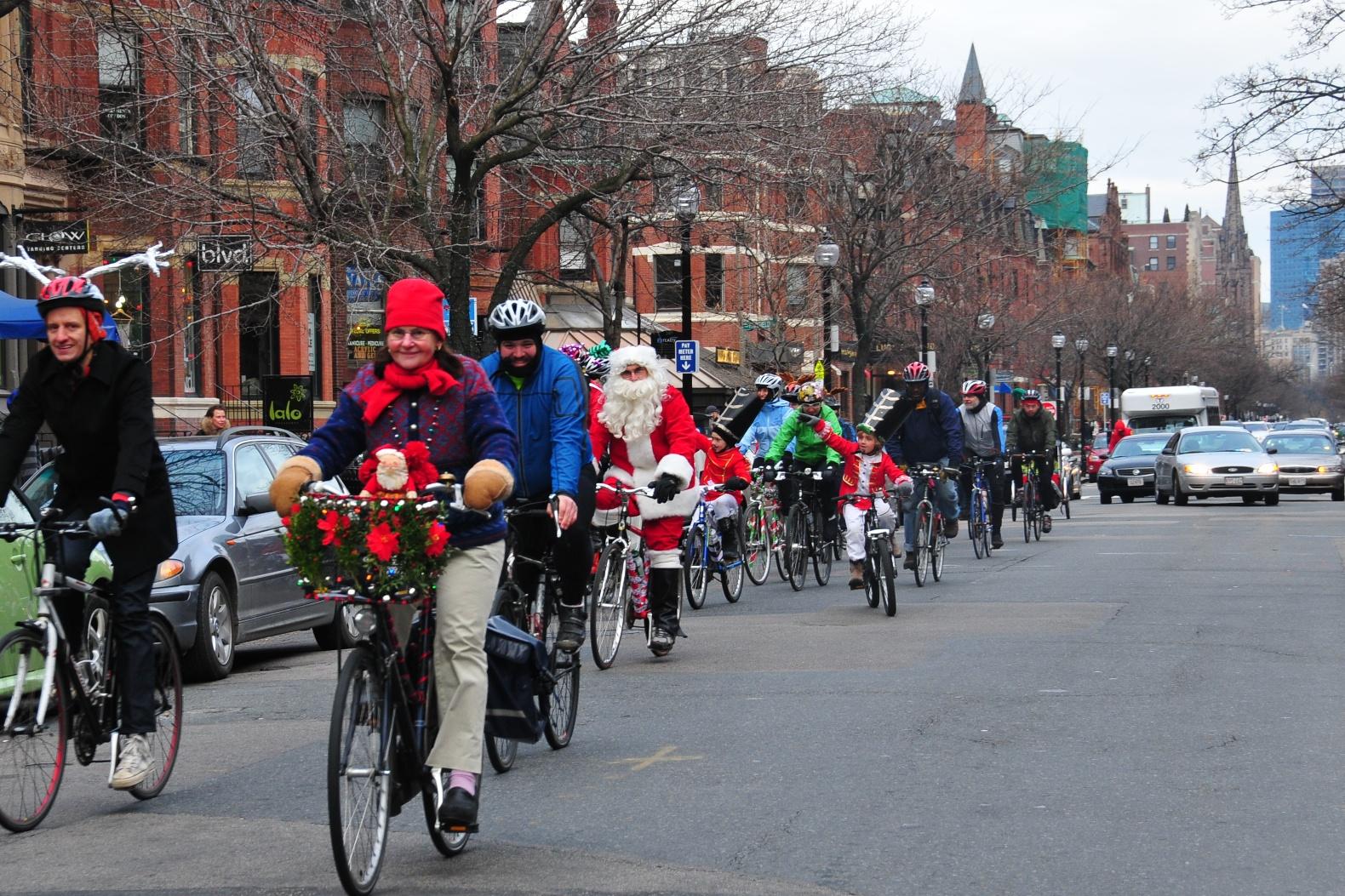 Jingle Ride! Arlington to Boston