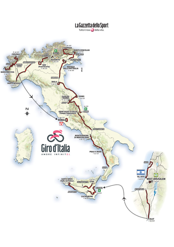 Risultati immagini per giro d'italia 2018
